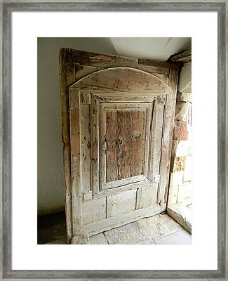 Door To Feudal Times Framed Print