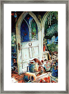 Door To My Heart Framed Print