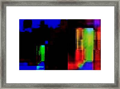 Door To Paradise Framed Print