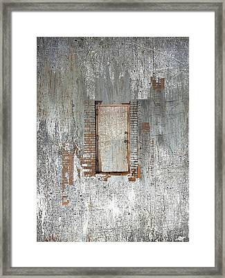 Door Framed Print by Tony Rubino