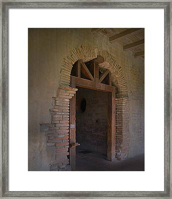 Door Way Framed Print