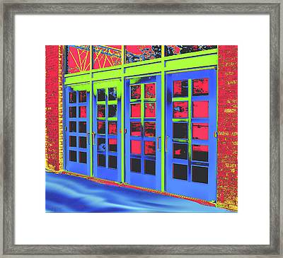 Doorplay Framed Print by Wendy J St Christopher