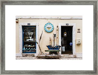 Doors No 19 And 19a Framed Print by Marco Oliveira
