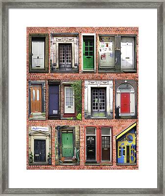 Doors Of England I Framed Print