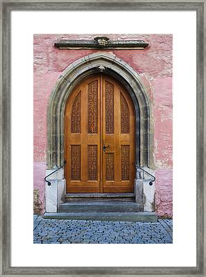Doors Of Germany Framed Print