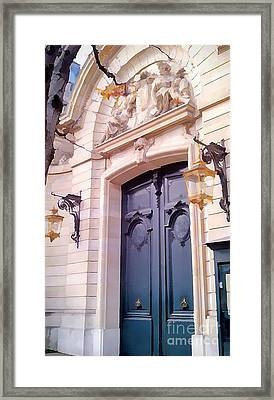 Doors Of Paris I Framed Print
