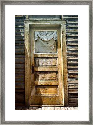 Doors Of St Elmo I Framed Print