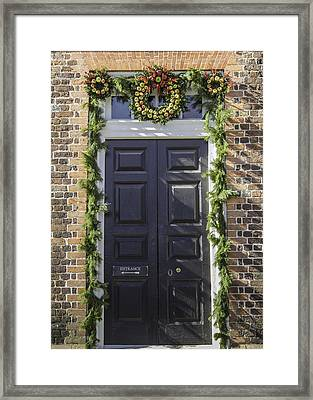 Doors Of Williamsburg 46 Framed Print
