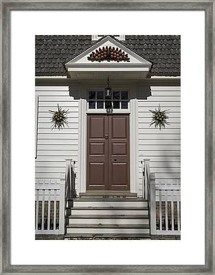 Doors Of Williamsburg 61 Framed Print