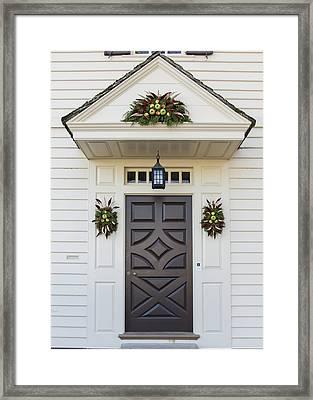 Doors Of Williamsburg 94 Framed Print by Teresa Mucha