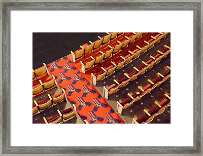 Doors Open In 5 Framed Print