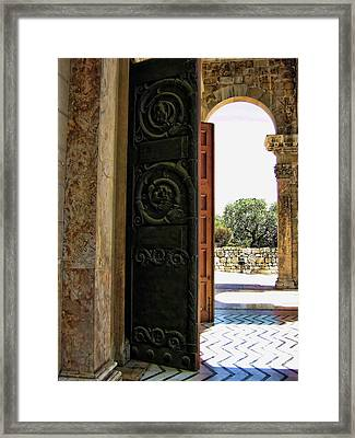 Doors To All Nations Framed Print