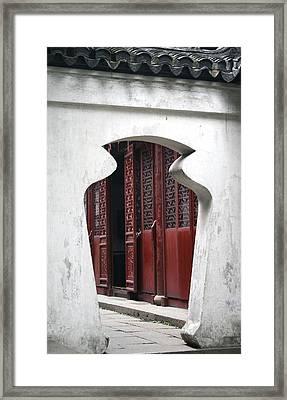 Doorway Framed Print by Erika Lesnjak-Wenzel