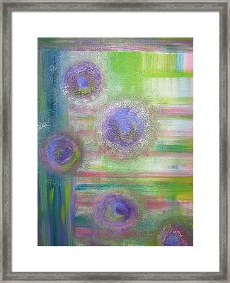 Doorway Illusions Framed Print