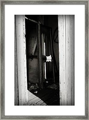 Doorway In Cuervo Framed Print