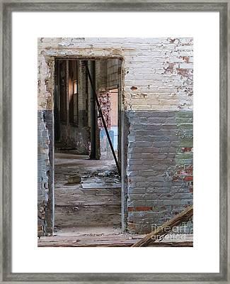 Doorway Framed Print