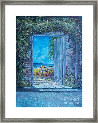 Doorway To ... Framed Print by Sinisa Saratlic