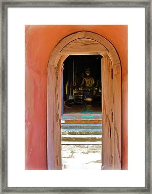 Doorway To Enlightenment Framed Print