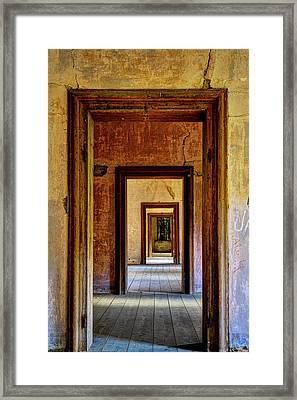 Doorways Framed Print by Ivan Slosar