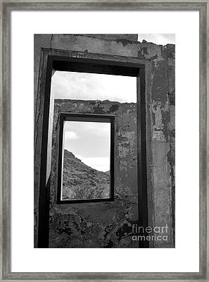Doorways Framed Print