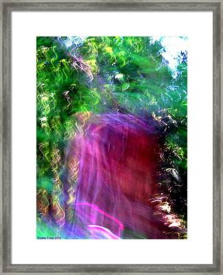 Doorways Sometimes Open Framed Print by Jane Tripp