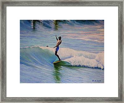 Dora Framed Print by Kenneth DelGatto