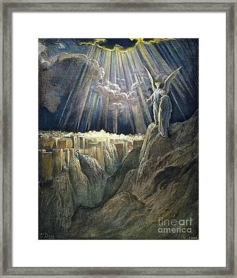 Dore: New Jerusalem Framed Print