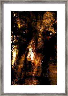 Framed Print featuring the photograph Dorian Gray by Ken Walker