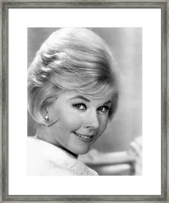 Doris Day, Ca. 1960s Framed Print by Everett