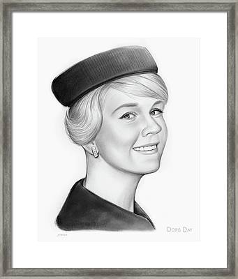 Doris Day Framed Print by Greg Joens