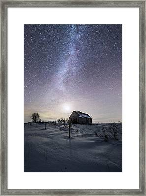 Framed Print featuring the photograph Dormant by Aaron J Groen