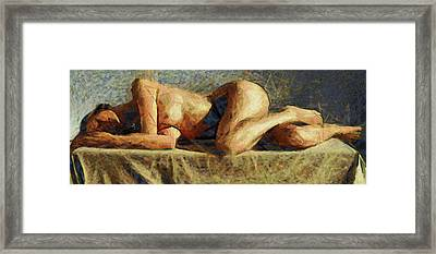 Dormire Somnus Framed Print by Sir Josef - Social Critic -  Maha Art