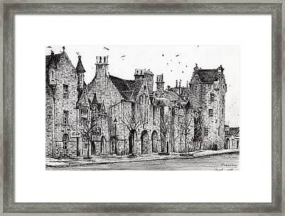 Dornoch Framed Print by Vincent Alexander Booth