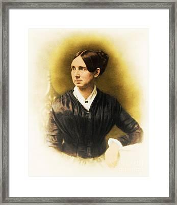 Dorothea Dix, American Reformer Framed Print