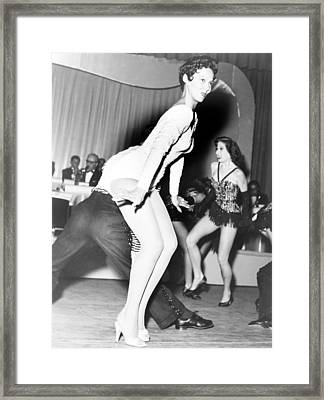 Dorothy Dandridge 1922-1965, Dances Framed Print by Everett