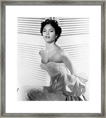Dorothy Dandridge, Ca. 1950s Framed Print