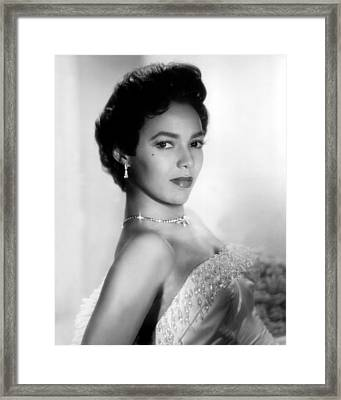 Dorothy Dandridge, No Date Framed Print