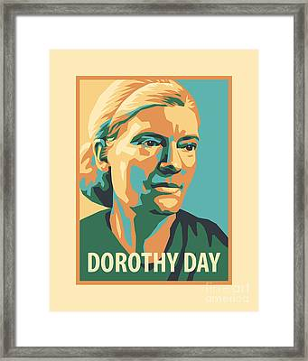 Dorothy Day, 1938 - Jldyd Framed Print