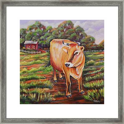 Dorothy Louise Framed Print by Patricia Piffath