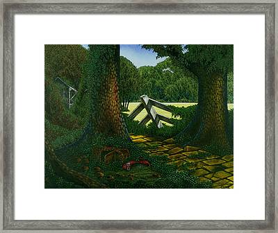 Dorothy Framed Print by Michael Frank