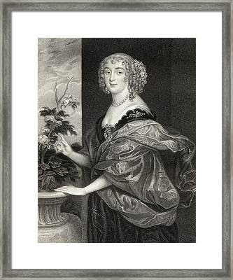 Dorothy Sidney Countess Of Sunderland Framed Print