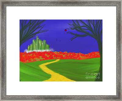 Dorothy's Dream Framed Print by Roxy Riou