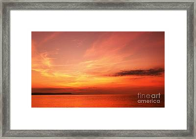 Framed Print featuring the photograph Dorset Delight by Baggieoldboy