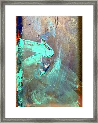 Dos Framed Print by Anna Villarreal Garbis