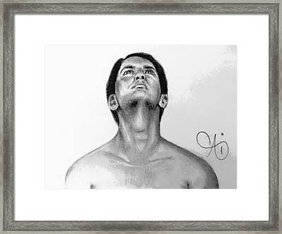 Dos Caras Framed Print by Ai P Nilson