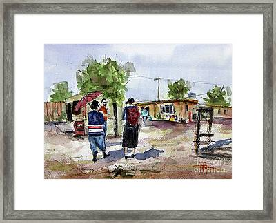 dos Hermanas Framed Print by Tim Ross