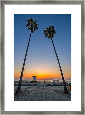 Dos Palms Framed Print