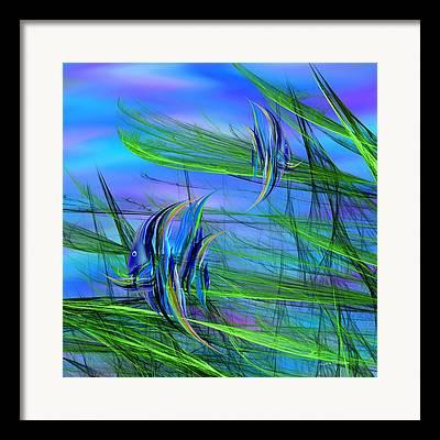Beachcomber Framed Prints