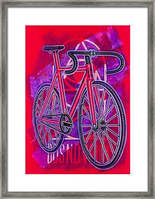 Dosnoventa Houston Flo Pink Framed Print