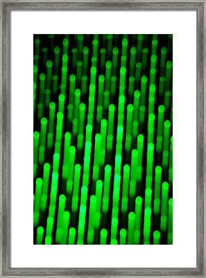 Dot Matrix Framed Print by Az Jackson